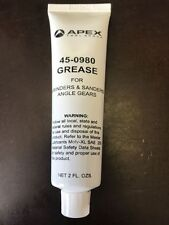 APEX 45-0980 GREASE FOR GRINDERS AND SANDERS ANGLE GEARS BRAND NEW