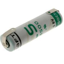 Saft Battery LS14500 3.6V AA LiSOCL2 LS14500CRN 2 solder tabs Lithium
