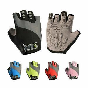 ROCKBROS Halbfinger Handschuhe Fahhradhanschuhe Sommer 5 Farbe Gr. S-XL DHL