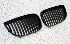FRONT GRILL GRILL GRILLE SET for BMW E87 1er BLACK SHINY BLACK GLOSSY