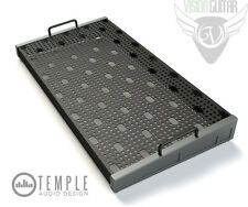 "Temple Audio Design Duo 24 (24.5"" x 12.5"") Pedalboard - Gun Metal"