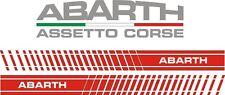ADESIVI FIAT GRANDE PUNTO ABARTH / EVO FASCE LATERALI  CON OMAGGIO INCLUSO