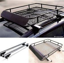 Bloccabile in alluminio 135 cm ROOF RAIL Bars & CAR VASSOIO RACK PER FIAT PANDA CROSS 14 >