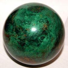 Chrysocolla Malachite Sphere Ball Russia