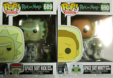 RICK AND MORTY Space Suit Rick + Morty + Snake - Funko Pop!
