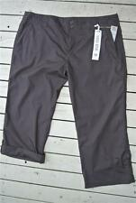RIVERS Casual CROP PANTS Mid Rise Chocolate Size 18. NEW rrp$39.95 Adj.Length