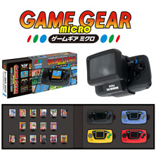 Game Gear Micro 30th Pins & Collection Box Big Window Micro Limited Set 1006