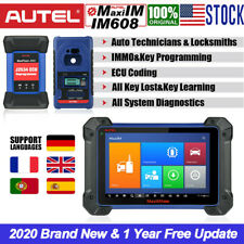 Autel IM608 IMMO Key ECU Programmer OE-Level FULL System Diagnostic Scanner Tool