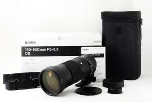 SIGMA Telephoto Zoom Lens Contemporary 150-600mm F5-6.3 DG OS HSM for Nikon