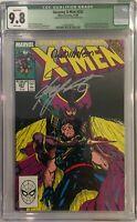 Uncanny X-Men #252/257 - CGC QL 9.8/9.6 - 2 Book Lot - 5 Sigs!!! Great Value!!!