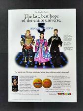 Babylon 5 - Action Figures - Toys R Us Magazine Advert #B4219