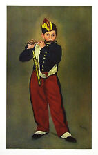 Edouard Manet Der Pfeifer Poster Kunstdruck Bild 85x52cm