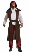 Buccaneer Baron Pirate Adult Mens Costume Standard Size NEW