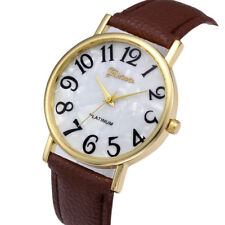 Casual Women Retro Quartz Dial Watches Leather Band Analog Dress Wrist Watch US