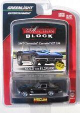 GREENLIGHT AUCTION BLOCK SERIES 13 1967 CHEVY CORVETTE 427 L88