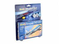 REVELL® 1:450 BOEING 747-200 MODEL AIRCRAFT KIT JUMBO JET MODEL PLANE SET 63999