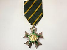 (AL) Médaille Croix de Chevalier Ordre du Mérite Combattant