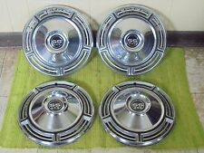 "1968 Chevrolet SS 396 Hub Caps 14"" Set of 4 Chevy Wheel Covers 68 Hubcaps"