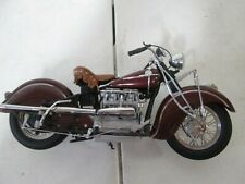 Franklin Mint Motorcycle 1942 Indian 442