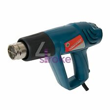 Professional hot air gun réglable 2000W 600 ° c 125963 paint remover thermorétractables