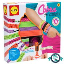 Cobra Friendship Bracelets DIY Kit For Kids Girls Craft Hook Children's Jewelry