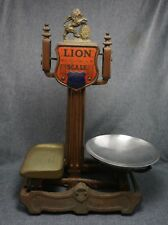 LION QUICK ACTION Balance SCALE 4 LB. - Herbert & Sons Ltd. LONDON - Cast Iron