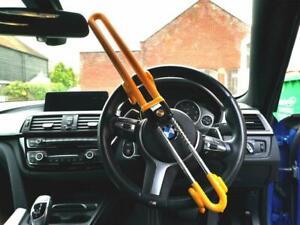 HEAVY DUTY Car steering Wheel lock high security anti theft hook van hook crook