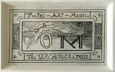 Louis Michel Eilshemius Drawing-OM, hand drawn business card, n.d.