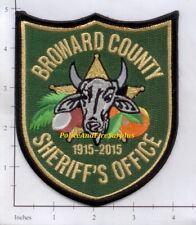 Florida - Broward County Sheriff FL Police Dept Patch Bull
