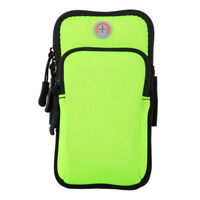 Outdoor Sports Running Jogging Arm Band Bag Pouch Case For iPhone Samsung Phones