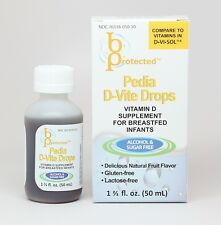 Pedia D-Vite Infant and Toddler Vitamin 50mL 400iu D3- compares to D Vi Sol