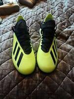adidas X Tango 18.3 TF Mens Astro Turf Football Boots Trainers Yellow SIZE 7