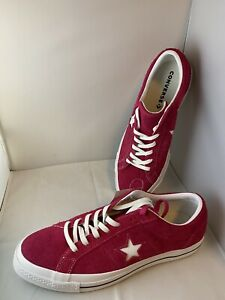 Converse One Star Pink Pop Suede Men Women Casual Shoes Sneakers All Star