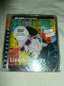 DVD Audio - The DAMNED - Live Anthology - rare