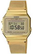 Casio   Collectie   Stalen Mesh Armband   A700WEMG-9AEF Horloge