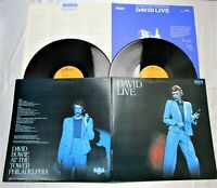 David Bowie David Live [RCA-9105?06] JAPAN VINYL LP Record