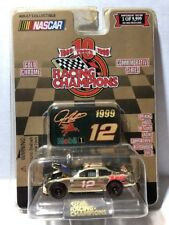 Racing Champions 1999 Gold Chrome #12 JEREMY MAYFIELD 1/64 10th Anniversary