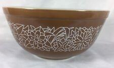 Vintage Pyrex Corning Woodland Brown Nesting 2.5 L Mixing Bowl 403