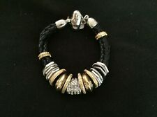CHICO'S GOLD AND SILVER TONE BRACELET - 9156