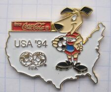 Coca-cola/world cup usa 94 Striker... pin (111k)