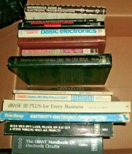 Vintage Lot 1970 1980 Computer Books Electronics Projects Workbooks Guides Instr