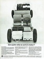PUBLICITE ADVERTISING 115  1965  VOLKSWAGEN    la VW VARIANT