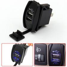 12 24v 31a Dual Led Usb Car Auto Power Supply Charger Port Socket Waterproof Fits 2013 Kia Sportage