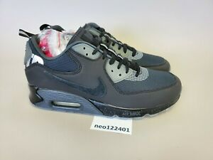 NEW NIKE AIR MAX 90 2020 x UNDEFEATED UNDFTD Sz. 9.5 BLACK/ANTHRACITE CQ2289-002