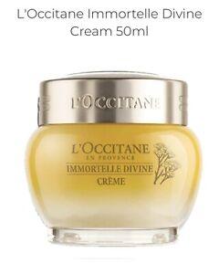 Loccitane immortelle Devine Cream 50 Ml Rrp$152.  Sell $135