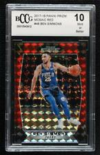 2017-18 Panini Prizm Mosaic Red Ben Simmons #48 BCCG Mint