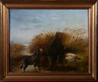 Early 20th Century Oil - A Successful Hunt