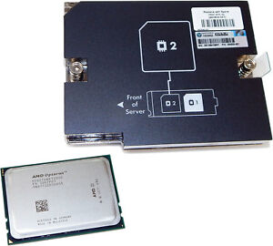 HP BL465c Gen8 AMD Opt 6276 16C Processor Kit 634970-B21 Heatsink Included