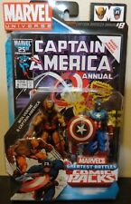 Marvel Universe Captain America Wolverine Greatest Battles Comic 2 pack 2009