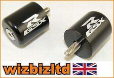 Contrapesos y cubiertas de color principal negro para motos Suzuki